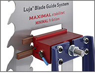 Luja® Blade Guide System